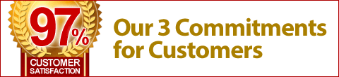 Our 3 Commitments for Customers