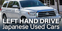 LEFT HAND DRIVE Japanese Used Cars
