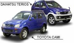 DAIHATSU TERIOS VS TOYOTA CAMI - Vol  164 | Used Cars for