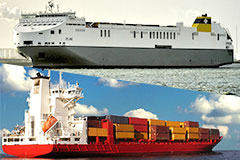 Ro-Ro Ships and Container Ships - Vol  407   Used Cars for