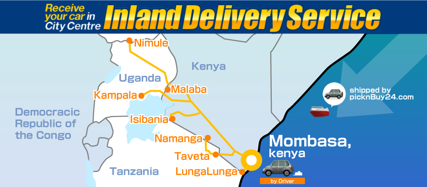 Inland Delivery Service via Mombasa1