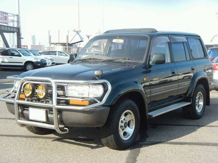 TOYOTA LAND CRUISER VX LTD