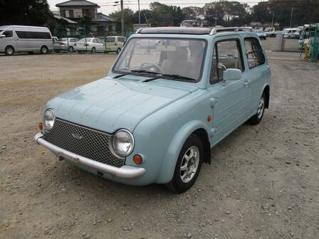 NISSAN PAO CANVAS TOP