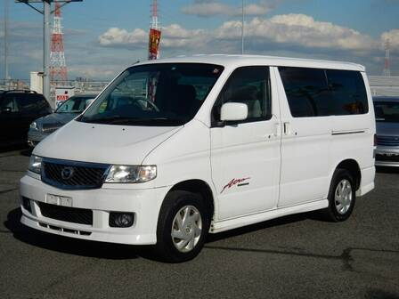 MAZDA BONGO FRIENDEE CITY RUNNER 4