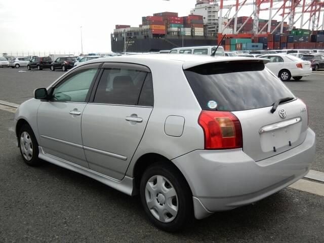 2001 Toyota Allex Parts Comparable To Corolla Runx