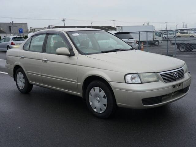 2003 NISSAN SUNNY (SENTRA) | Ref No.0100030122 | Japanese Used Cars ...