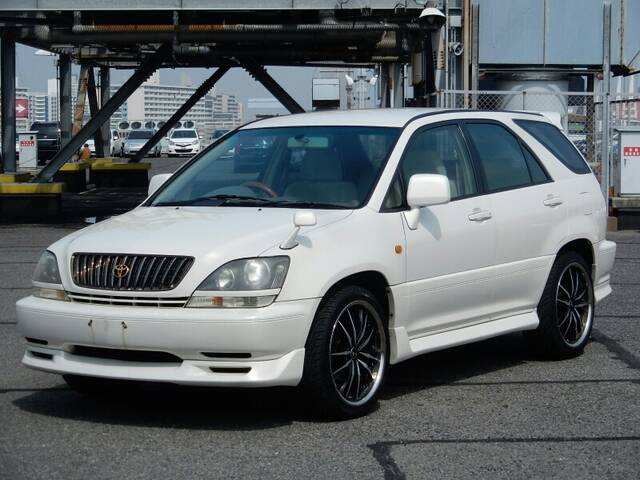 1999 TOYOTA HARRIER (LEXUS RX300) - Very Luxury SUV! Nice AW! Same car as LEXUS RX300! The Tire ...