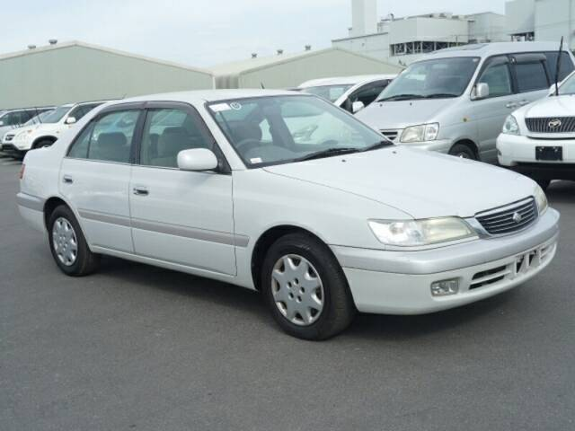 2001 Toyota Corona Premio Looking Good With The Fog Lights And Power Mirror Featuring A Spare Key Ref No 0100030864 Used Cars For Sale Picknbuy24 Com