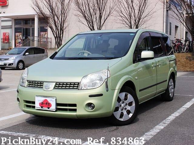 2005 Nissan Lafesta Ref No0100834863 Used Cars For Sale