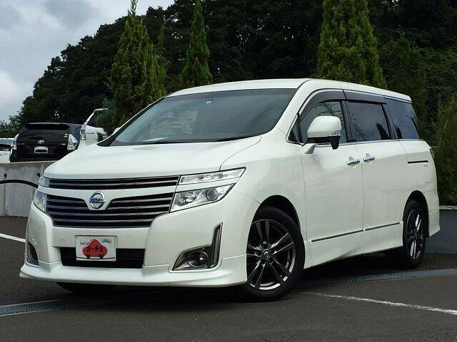 NISSAN ELGRAND 250 HIGHWAYSTAR URBAN CHROME