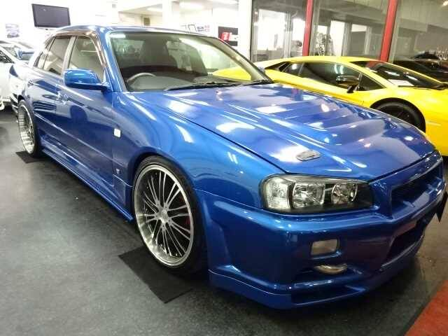 2000 Nissan Skyline Ref No0120071574 Used Cars For Sale