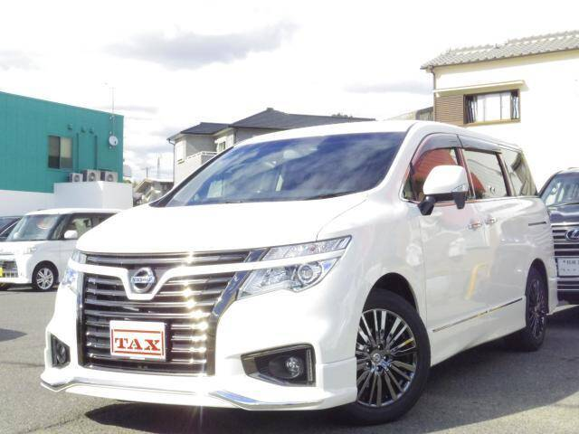 2018 Nissan Elgrand Ref No 0120079645 Used Cars For Sale