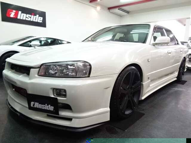 2000 Nissan Skyline Ref No0120086951 Used Cars For Sale