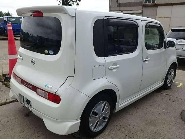 2009 nissan cube r f 0120102951 voiture occasion en vente. Black Bedroom Furniture Sets. Home Design Ideas