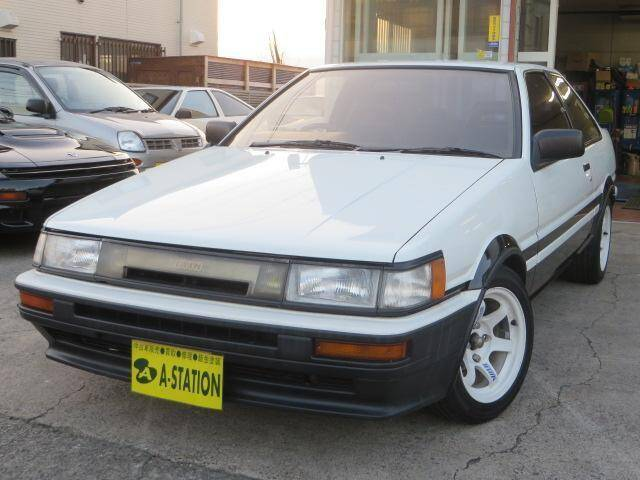 1987 Toyota Corolla Levin Ref No 0120123001 Used Cars For Sale