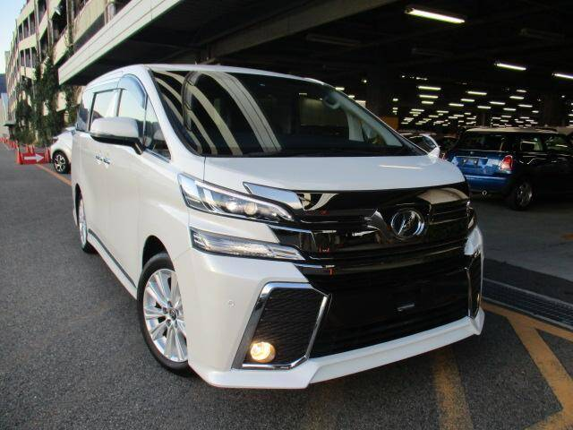 2016 Toyota Vellfire Ref No 0120129443 Used Cars For Sale