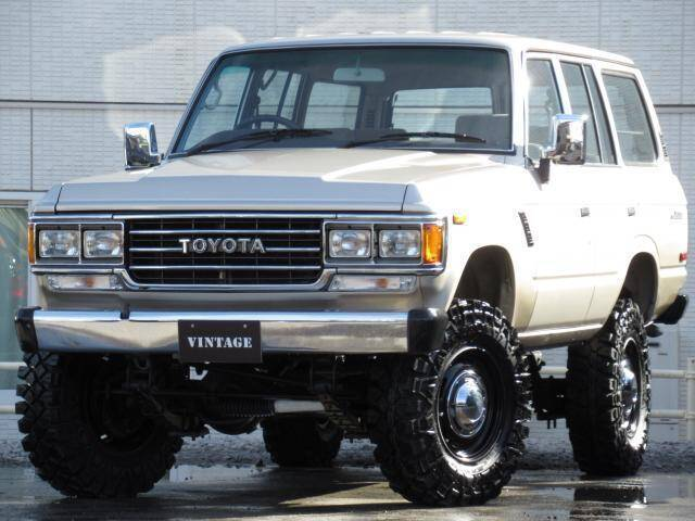 1989 TOYOTA LAND CRUISER | Ref No 0120131608 | Used Cars for