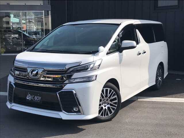 2016 Toyota Vellfire Ref No 0120163635 Used Cars For Sale
